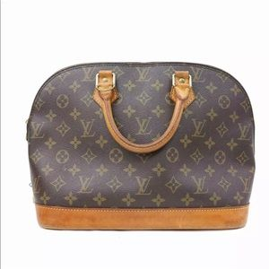 Authentic Louis Vuitton Monogram Alma Bag Purse